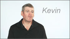 Video Testimonial of Kevin