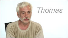 Video Testimonial of Thomas